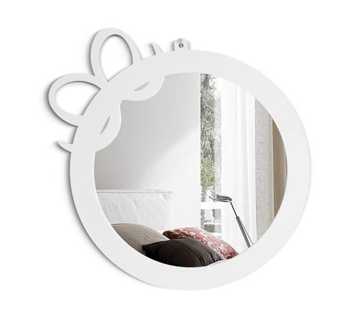 Настенное зеркало RIBBON: Детская комната в . Автор – BONESSI