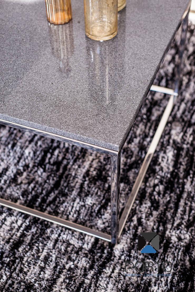 PROYECTO NN23: Salas de estilo  por PORTO Arquitectura + Diseño de Interiores