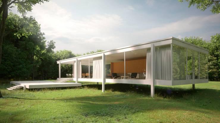 Casa Farnsworth:  de estilo  por TABARQ,