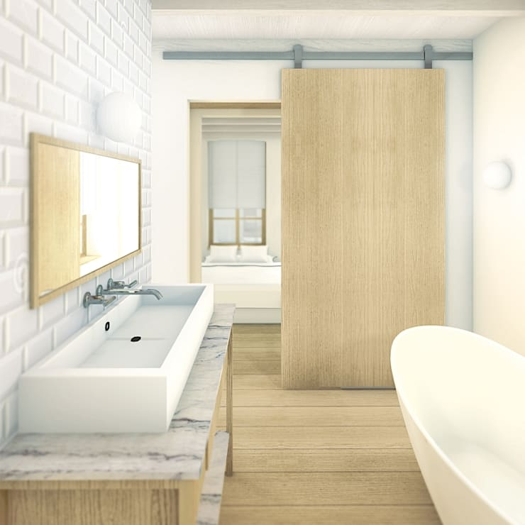 Baños de estilo  por De Nieuwe Context , Industrial