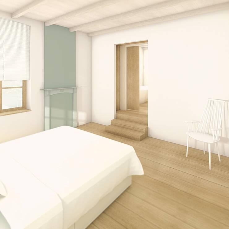 Dormitorios de estilo  por De Nieuwe Context , Industrial