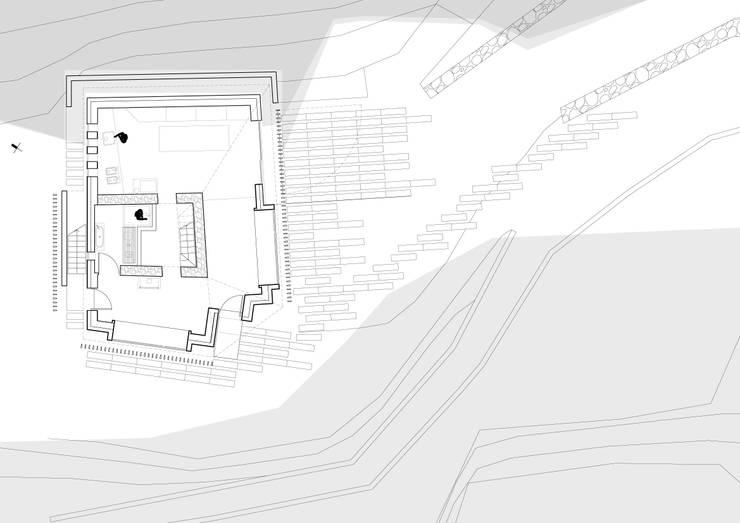 Piccolo Rifugio Privato in Collina:  in stile  di sandra marchesi architetto