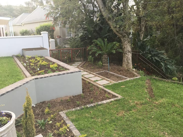 Garden Beds:  Garden by Helen Sparg Landscape Designer