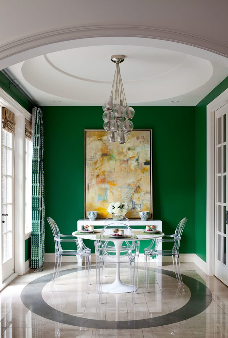 Cherry Creek Traditional with a Twist:  Dining room by Andrea Schumacher Interiors
