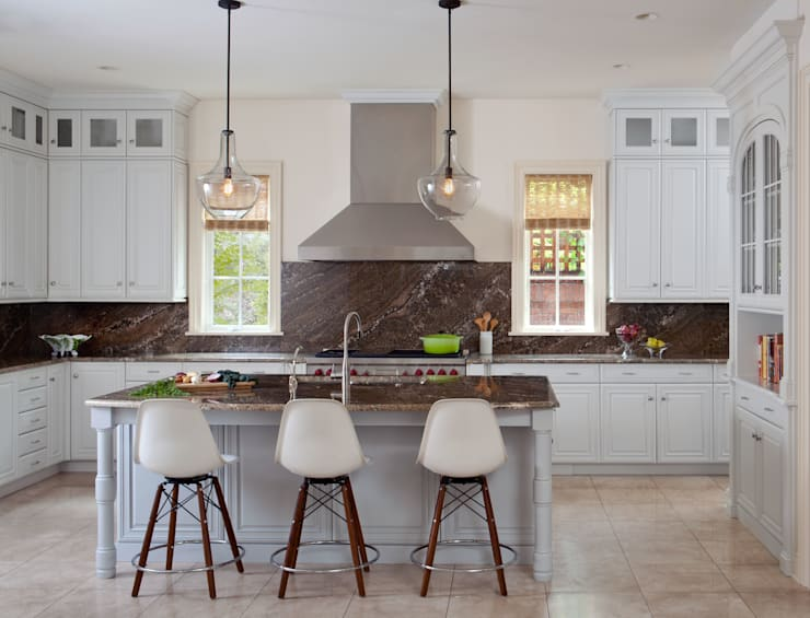 Cherry Creek Traditional with a Twist:  Kitchen by Andrea Schumacher Interiors