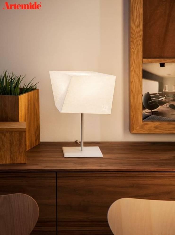 Hakofugu : Dormitorios de estilo  por Griscan diseño iluminación