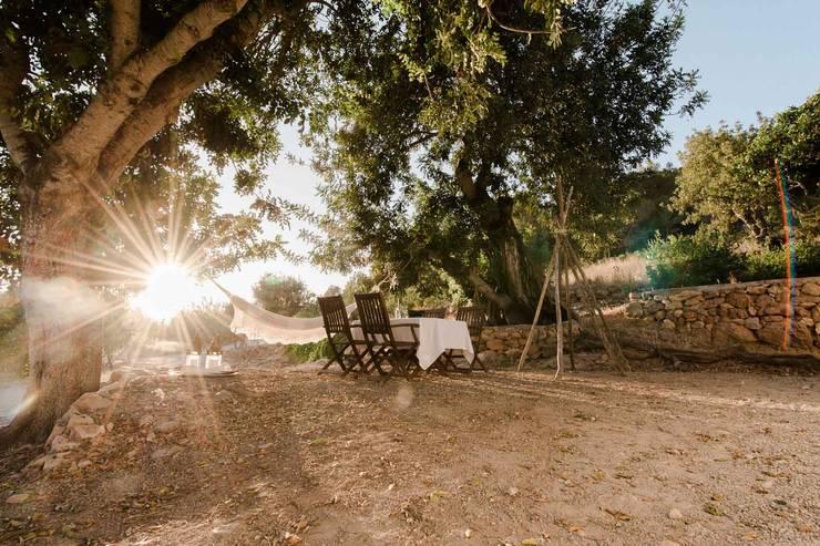 Ibiza Campo - Guesthouse: mediterranean Garden by Ibiza Interiors - Nederlandse Architect Ibiza