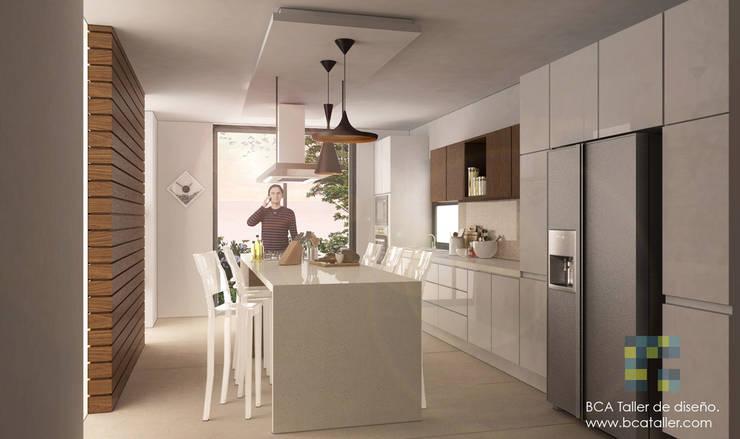 El Lago : Cocinas de estilo  por BCA Arch and Interiors
