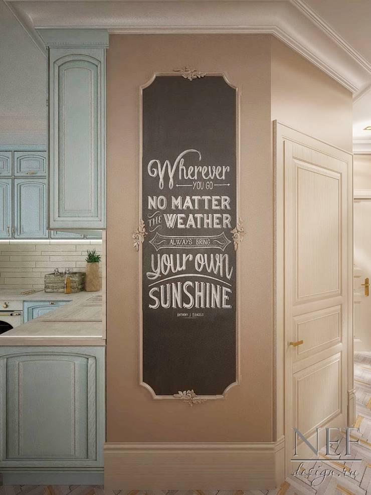 Квартира в американском стиле: Кухни в . Автор – Юлия Паршихина, Лофт