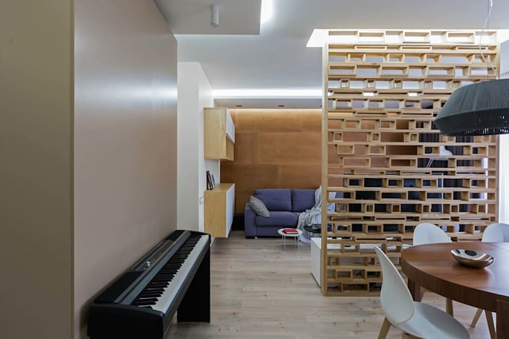 Living room by EUGENE MESHCHERUK   |  architecture & interiors