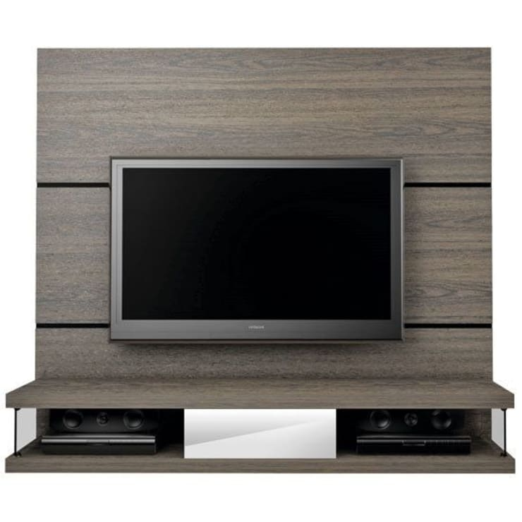MODELO 11A  - MUEBLE DE PARED HOME THEATER: Salas / recibidores de estilo  por 3 DECO