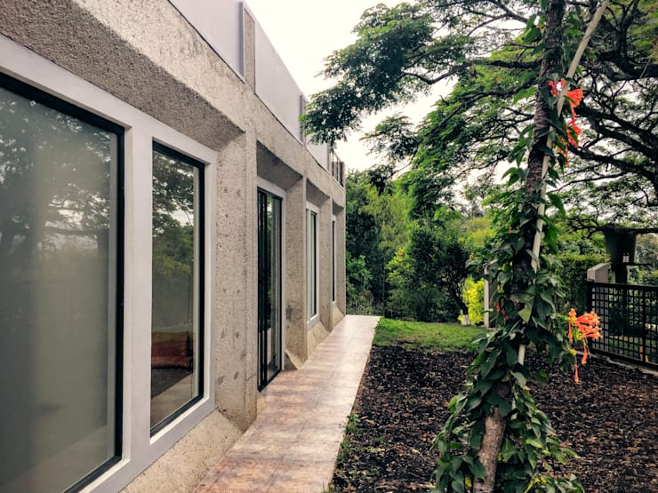 Casa La Vega: Casas de estilo  por Vertice Oficina de Arquitectura