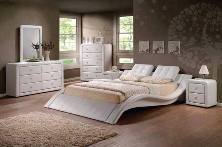 MİCA DESİGN – yatak odası: modern tarz , Modern Ahşap Ahşap rengi