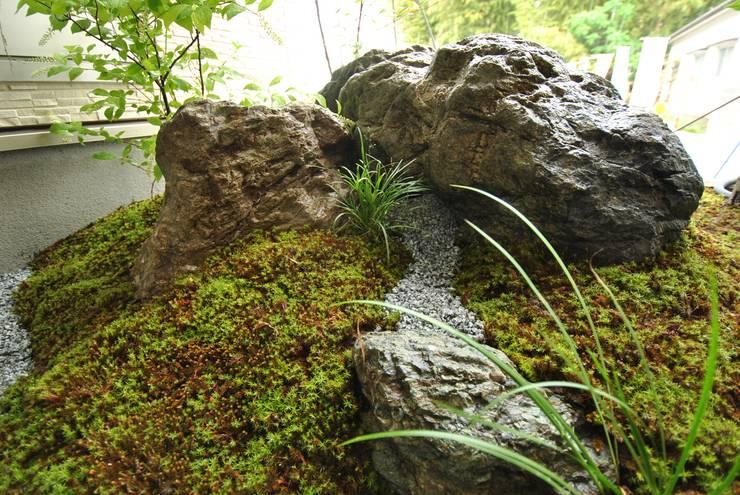 Vườn theo 作庭処 植徳,