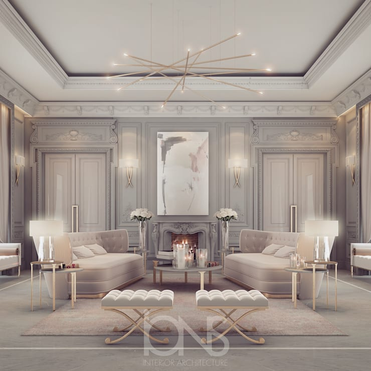 غرفة المعيشة تنفيذ IONS DESIGN