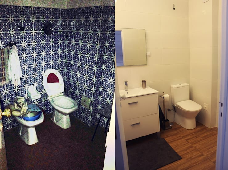 Instalação sanitária :   por 4 Pontos