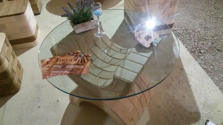 Due Ci:  in stile  di Blocco Arreda, Moderno Legno Effetto legno