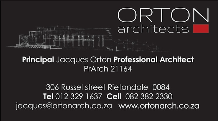 Designing:   by Orton Architects