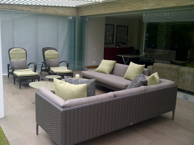 Terrace by THE muebles