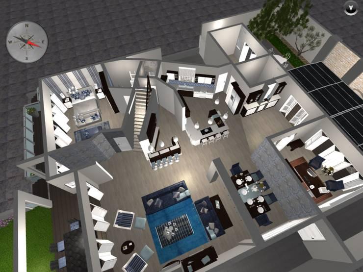 Livings de estilo  por CS DESIGN, Moderno