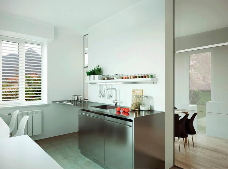 Кухня: Кухни в . Автор – ECOForma