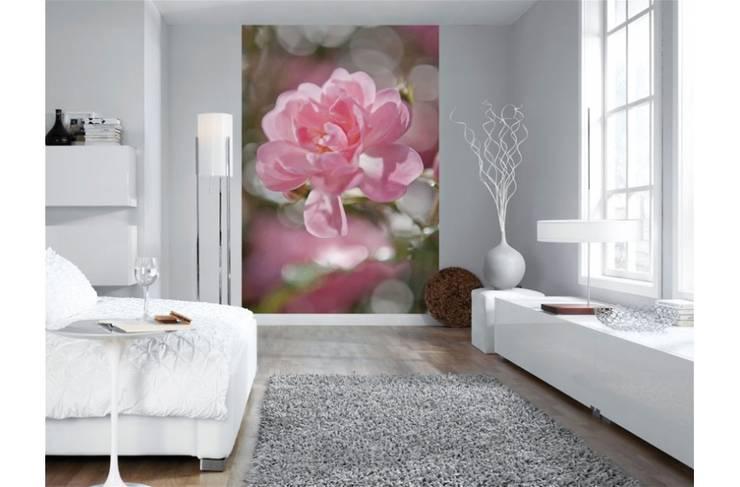 Papel de parede Wallpaper www.intense-mobiliario.com  Bouquet : Arte  por Intense mobiliário e interiores;