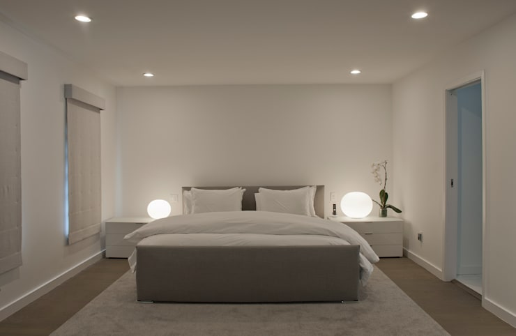 Georgetown Master Bedroom Lighting :  Bedroom by Hinson Design Group