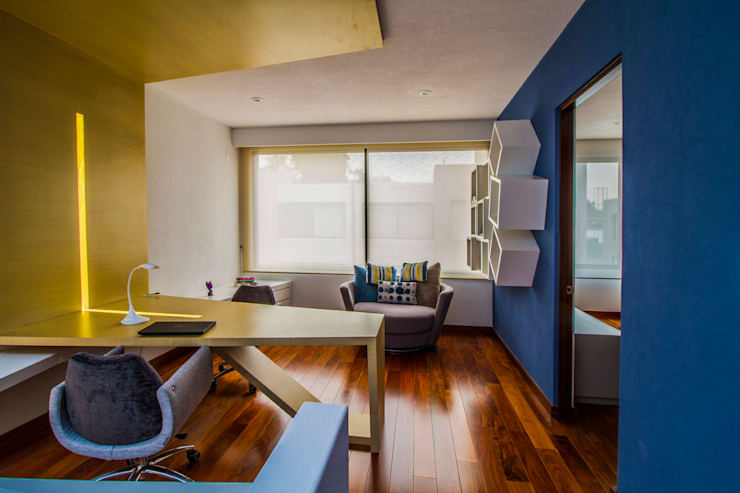 Casa Gonmar : Estudios y oficinas de estilo  por DIN Interiorismo
