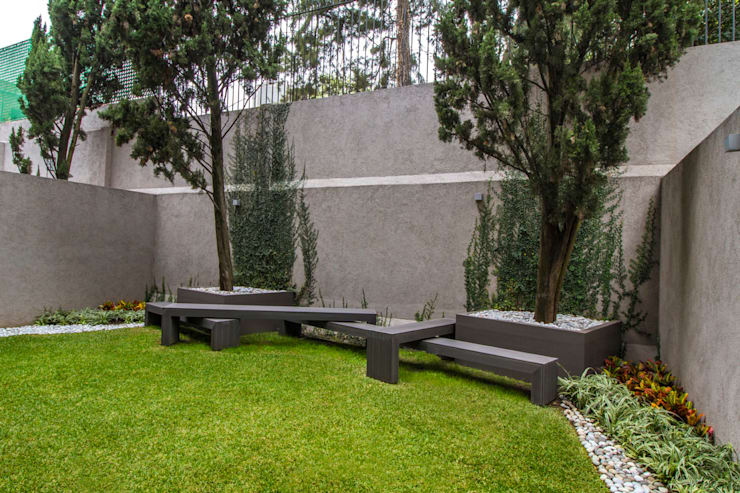 Terrazas de estilo  por DIN Interiorismo