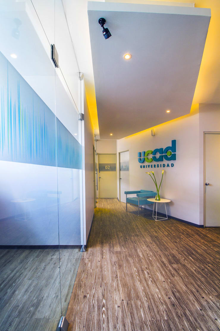 UCAD: Estudios y oficinas de estilo  por DIN Interiorismo