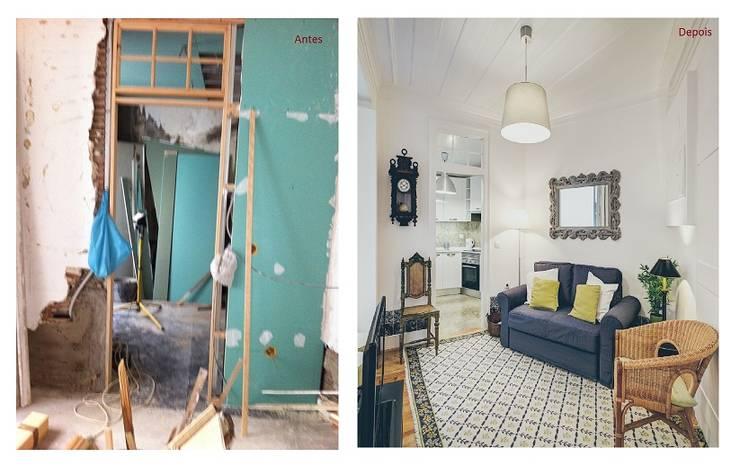Casa Pombalina: <q>de velho a novo</q>.:   por Obrasdecor