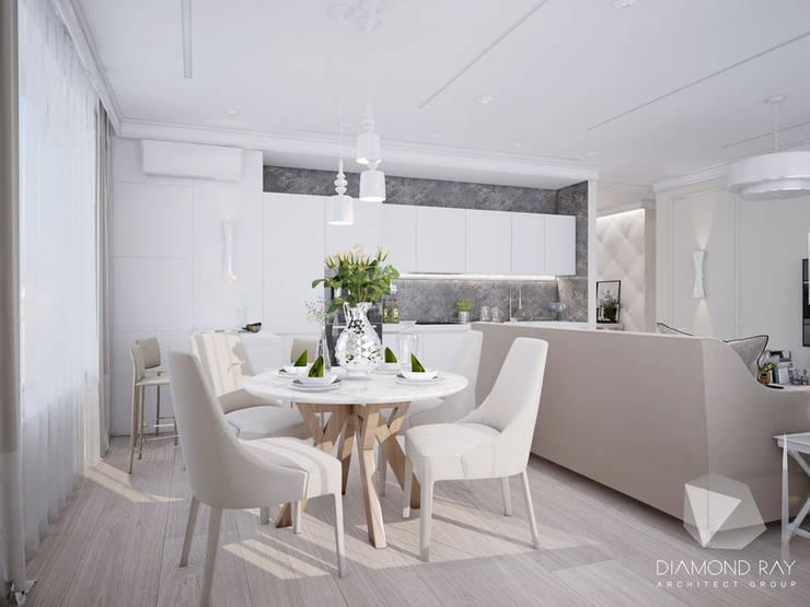 Дизайн-проект квартиры: Кухни в . Автор – Архитектурная группа 'ДАЙМОНД'
