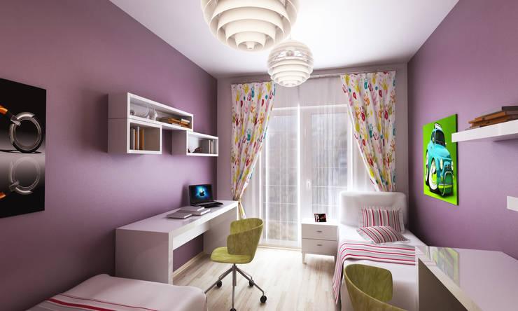 3DDİZAYN – jenga :  tarz Çocuk Odası
