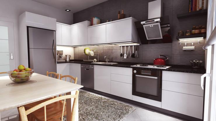 3DDİZAYN – jenga :  tarz Mutfak