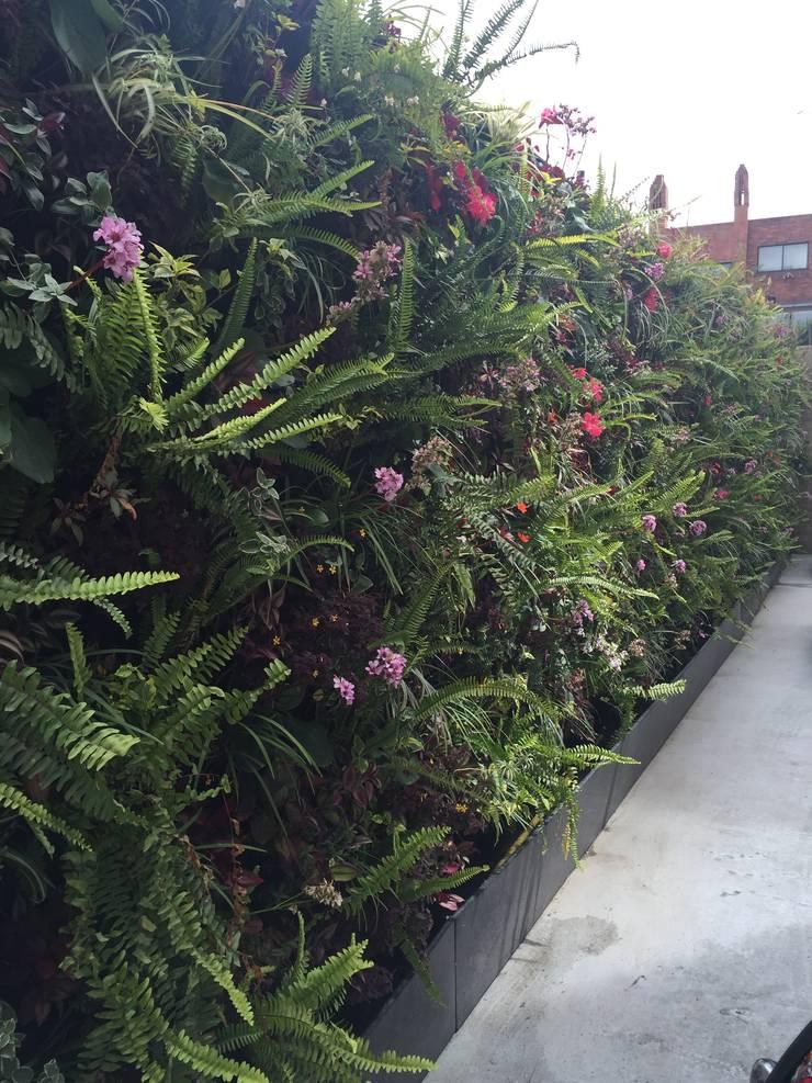 Jardines de estilo  por ESPACIO PENSADO S.A.S