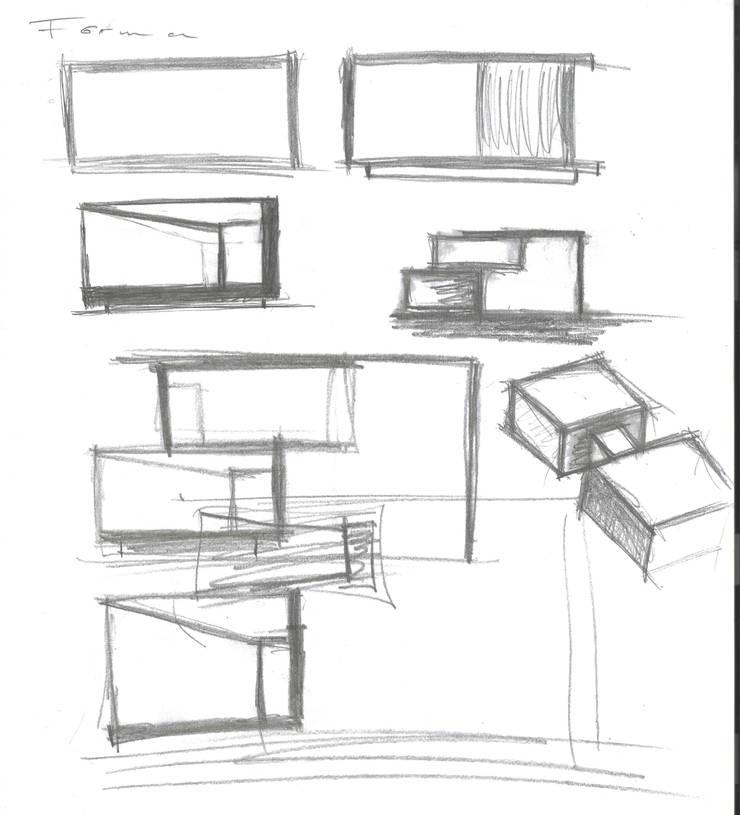 Oficinas Hidrop:  de estilo  por lab d arquitectura