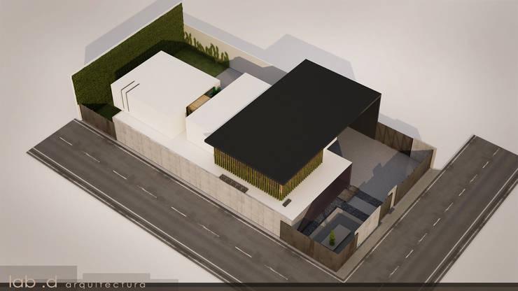 Oficinas Hidrop: Edificios de Oficinas de estilo  por lab d arquitectura