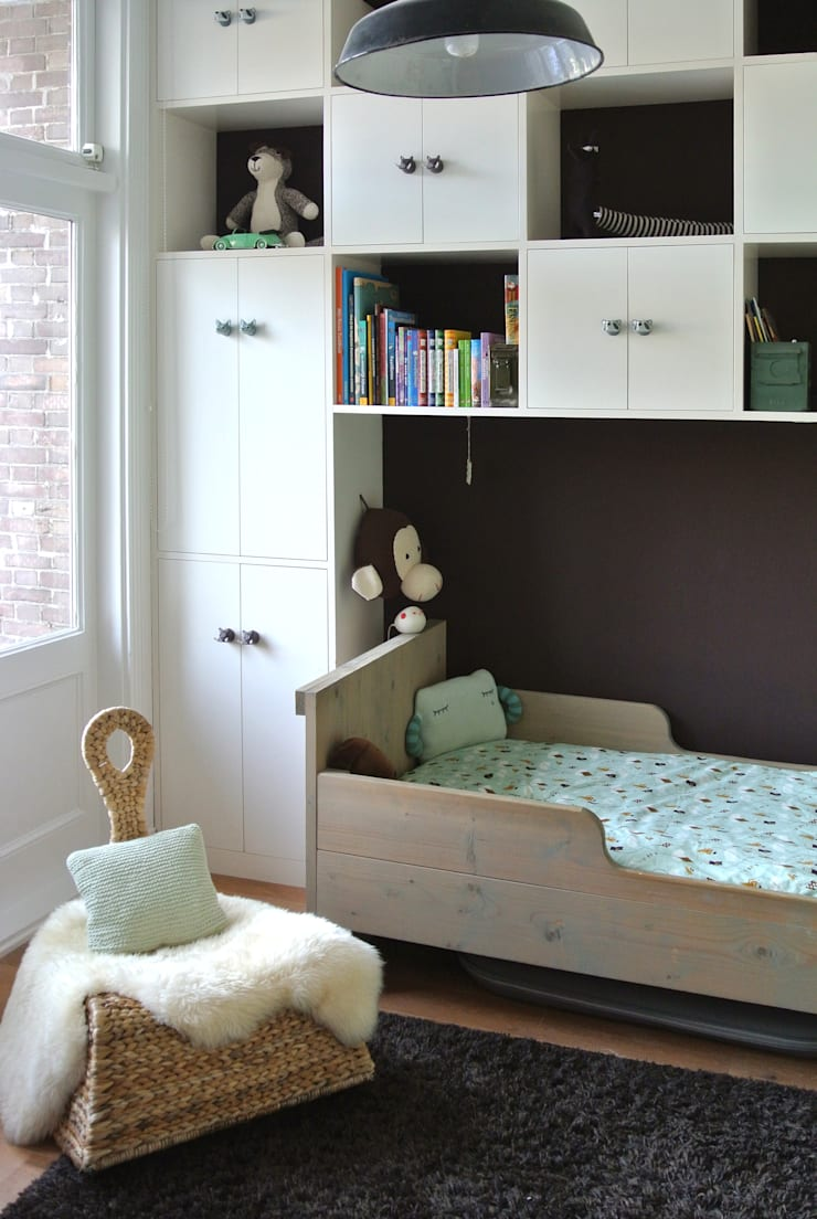 vintage kinderkamers – vintage kids rooms:   door Kinderkamervintage, Industrieel