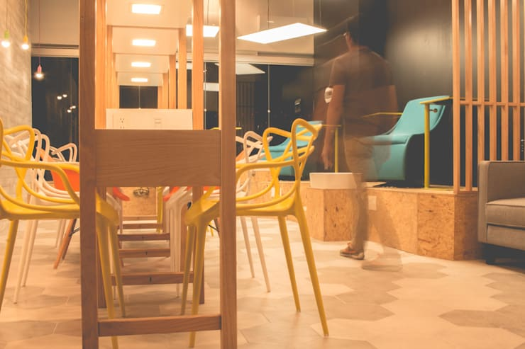 ACETONA: Espacios comerciales de estilo  por Mono Studio