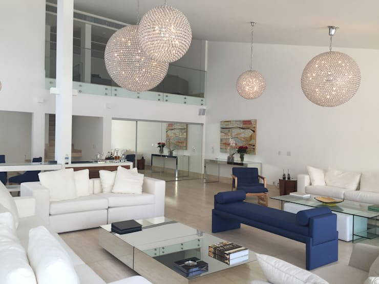 Living room by GEA Arquitetura, Modern