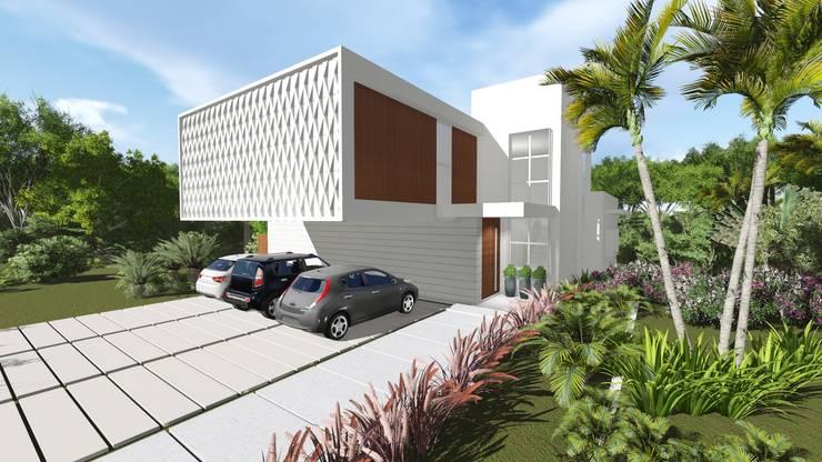 Casas de estilo moderno por Renata Matos Arquitetura & Business