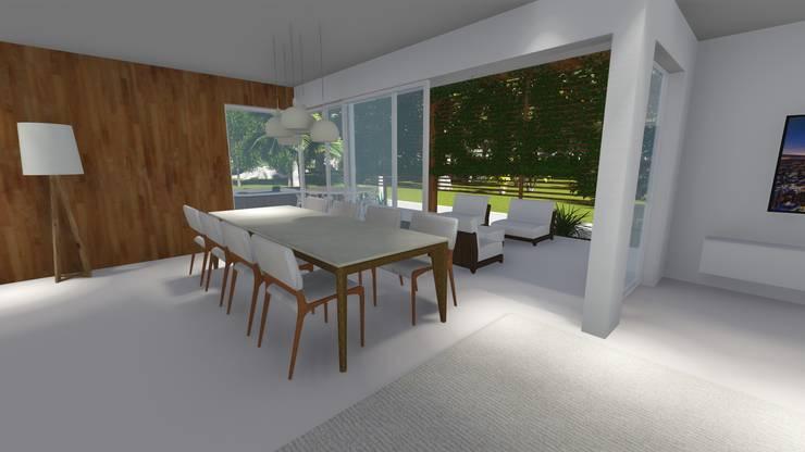 Rumah oleh Renata Matos Arquitetura & Business, Modern Beton