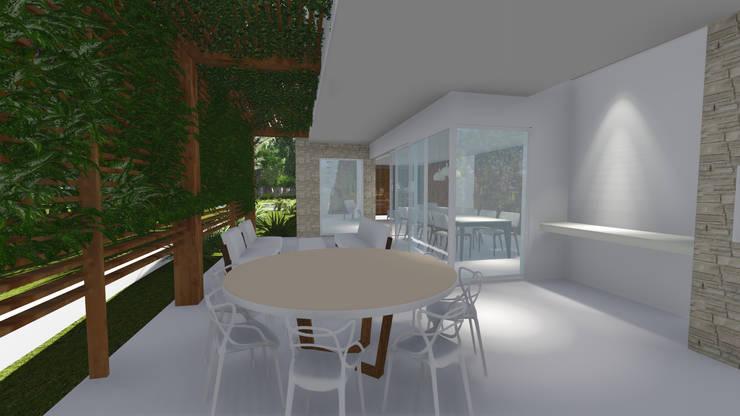 Rumah oleh Renata Matos Arquitetura & Business, Modern Kayu Wood effect