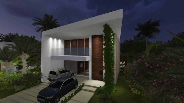 Rumah oleh Renata Matos Arquitetura & Business, Modern Batu