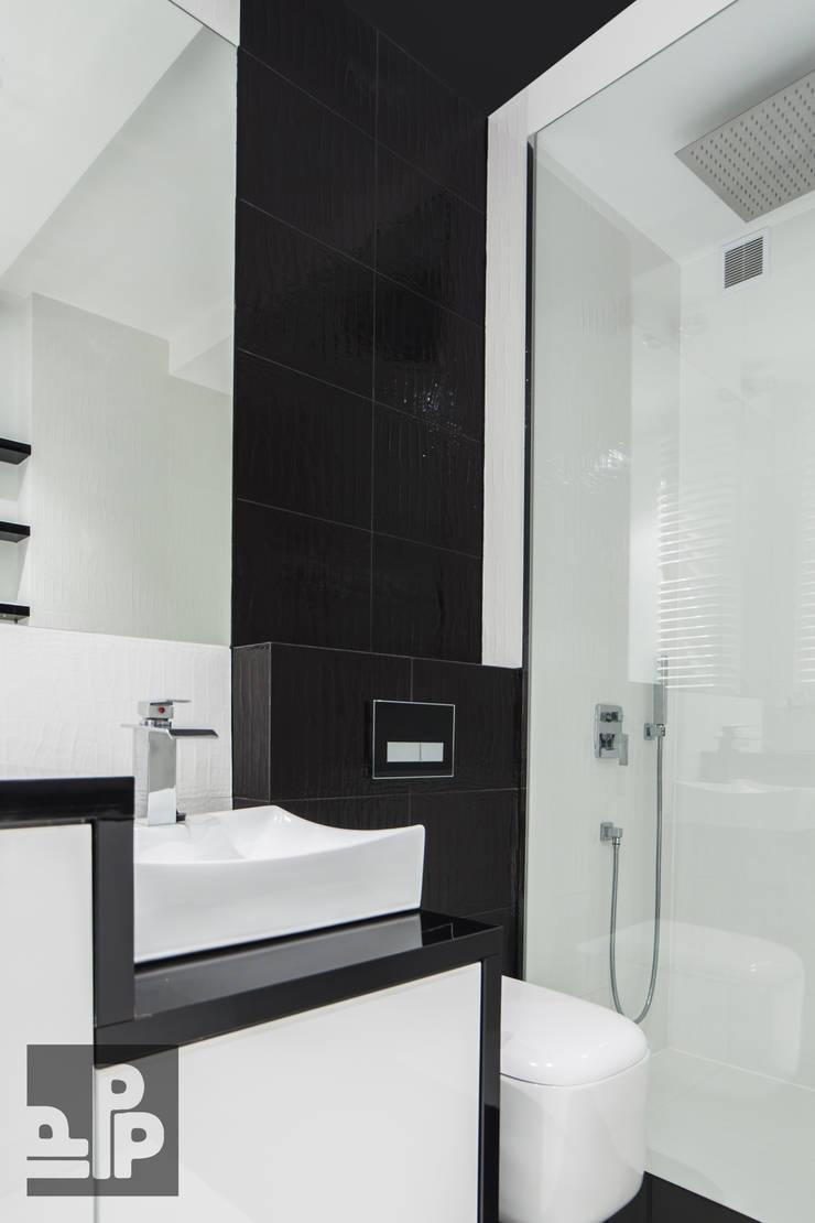 Mieszkanie Kraków, Czyżyny: styl , w kategorii Łazienka zaprojektowany przez Pogotowie Projektowe Aleksandra Michalak
