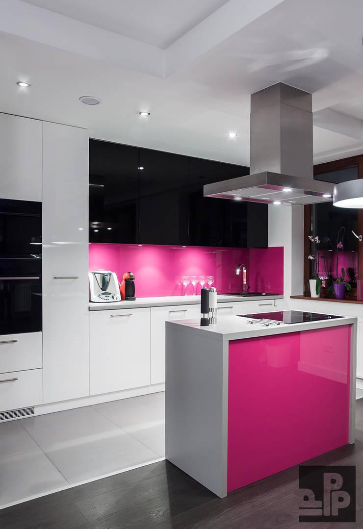 Mieszkanie Kraków, Czyżyny: styl , w kategorii Kuchnia zaprojektowany przez Pogotowie Projektowe Aleksandra Michalak