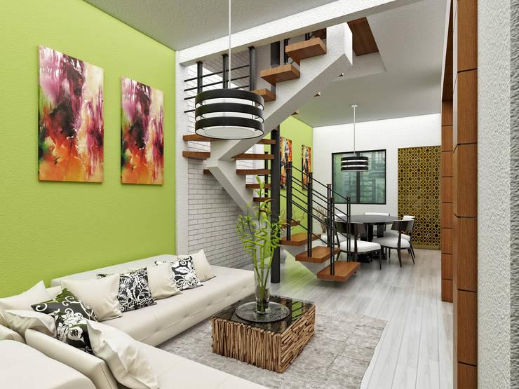Estanica Comedor:  de estilo  por LOFT ESTUDIO arquitectura y diseño