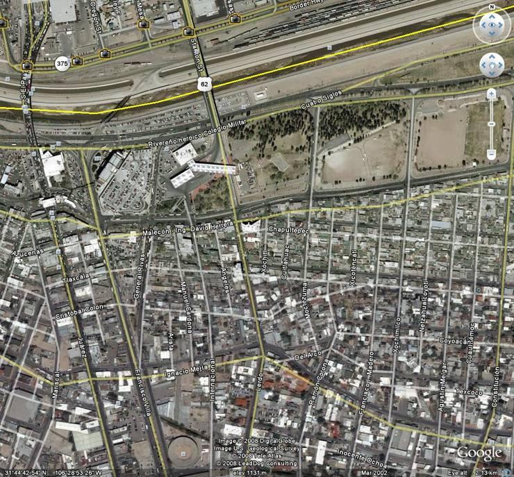 fotografia satelital:  de estilo  por Atelier X