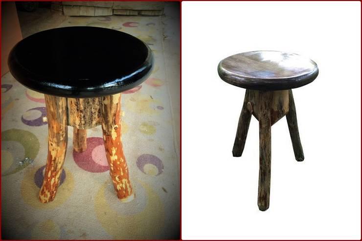 Coşkun Ahşap Dekorasyon – stool(tabure):  tarz İç Dekorasyon