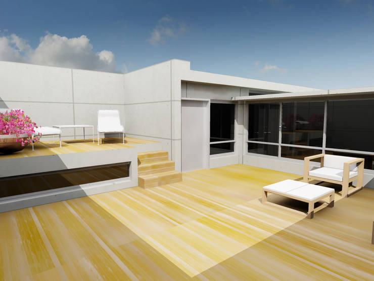 Lofts El Tejon:  de estilo  por Atelier X